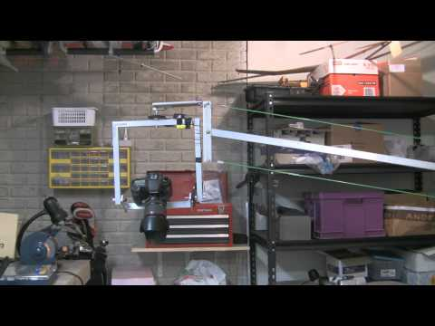 DIY Pan Tilt Head on Jib with Canon 7D - Motorized Remote Control