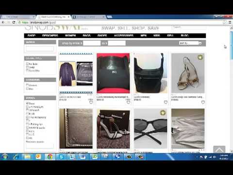 SnobSwap Overview - Swap designer clothing online