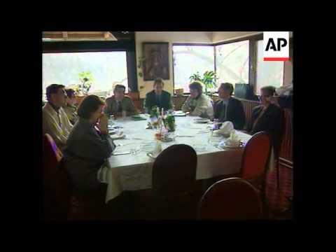 Bosnia - Delegation Of Women Meet Michael Steiner