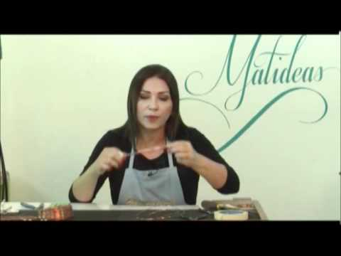 MATIDEAS - BRAZALETE CON ALAMBRISMO Parte 01