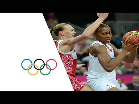 Basketball Women's Prel. Round Group B - France v Russian Fed. Replay - London 2012 Olympic Games