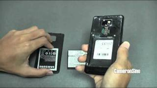 Samsung  Galaxy S II  Extended Battery (CS-SMI9100HL)