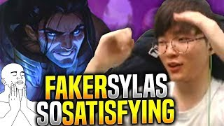 Watching FAKER with SYLAS is so SATISFYING! - SKT T1 Faker Play Sylas vs Ryze Mid | S9 KR SoloQ 9.10