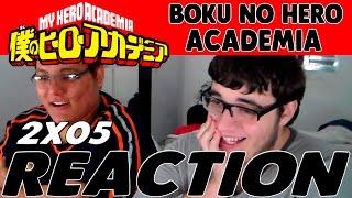 Boku no Hero Academia Season 2 - Episode 5 REACTION