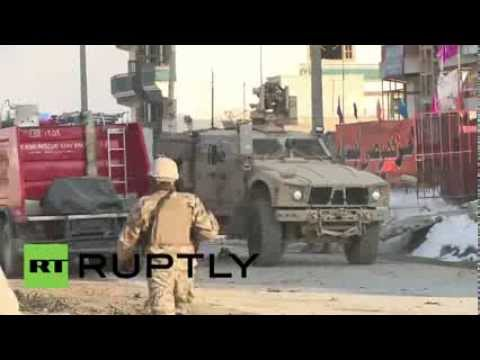 Afghanistan: Two civilian NATO contractors killed in attack on ISAF convoy