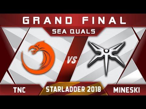 TNC vs Mineski Grand Final Starladder 2018 SEA Highlights Dota 2