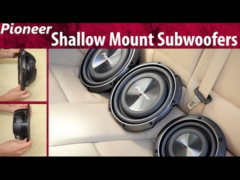 2015 Pioneer Shallow Mount Subwoofers