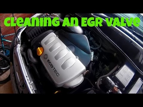 How to clean an EGR valve - Vauxhall astra mk4