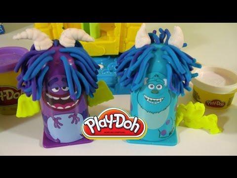Play Doh Peluquería Monsters University