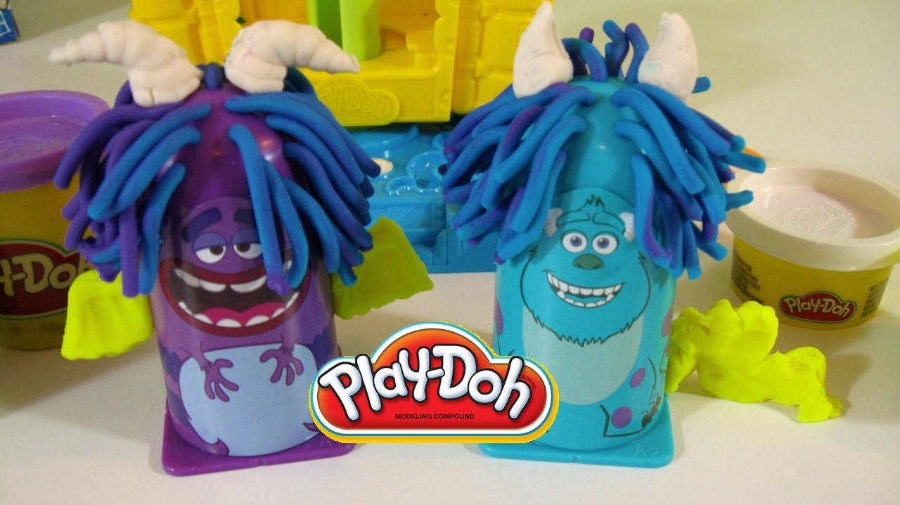 Play Doh Monsters University Scare Chair Youtube