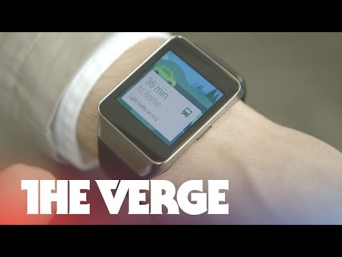 Samsung Gear Live hands-on | Google I/O 2014