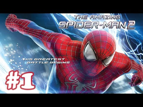 The Amazing Spider Man 2 - Movie Game Walkthrough (1080P) - Part 1 (iOS)