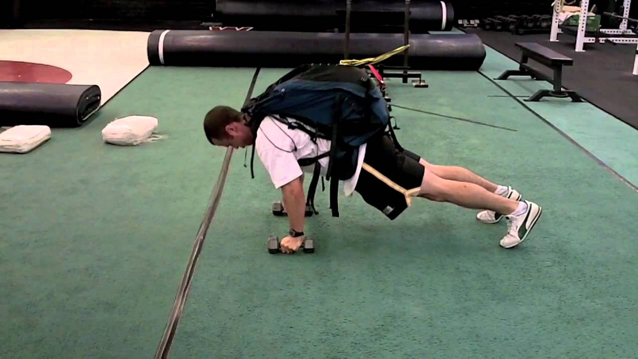 Backpack Pushups Backpack Weighted Pushup