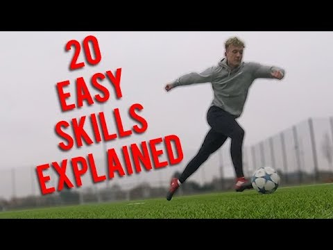 20 EASY SKILLS TO USE IN A GAME! (explained)