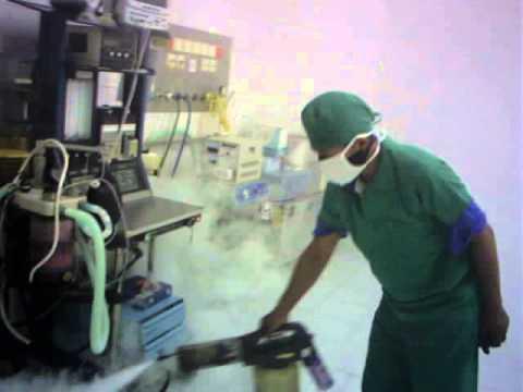 Kesling Purwokerto lakukan sterilisasi ruang operasi