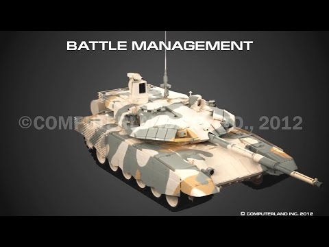 Uralvagon Zavod - T-90MS Main Battle Tank Capabilities Simulation [1080p]