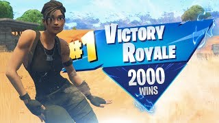 Perfect Game For 2,000 Fortnite WINS!