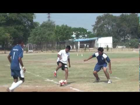 Football Match@Culinary Academy of India-2013