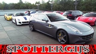 Supercar meet! 458, 599 GTO, GT3, SLS, LP560-4 and more!