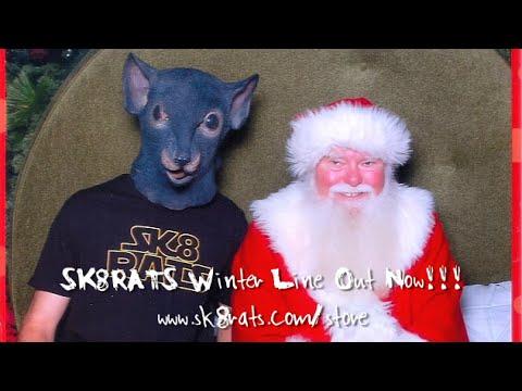 SK8RATS Visit Santa Claus