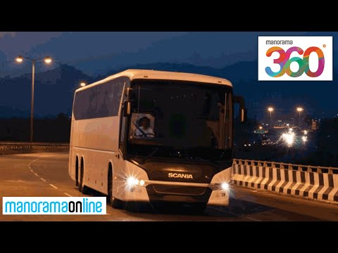 Scania Pavilion at Auto Expo 2016 | Scania Citywide Buses | VR 360 Degree | Manorama 360
