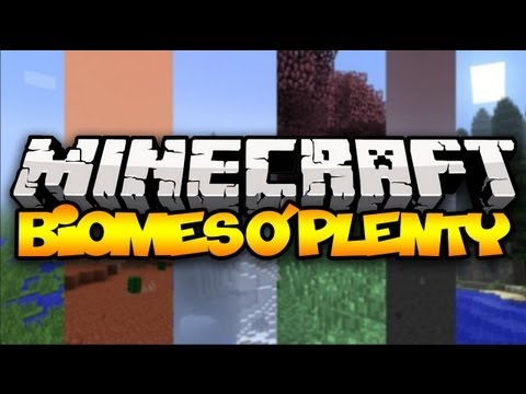 Minecraft: Biomes O' Plenty (80+ new biomes!) | Mod Showcase (1.6.2)