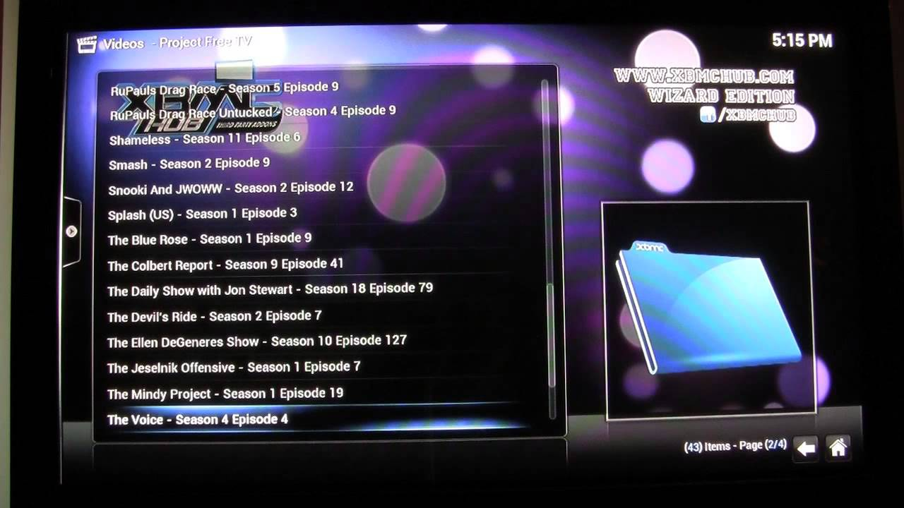 Project free tv