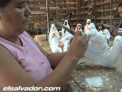 Los tradicionales nacimientos de barro