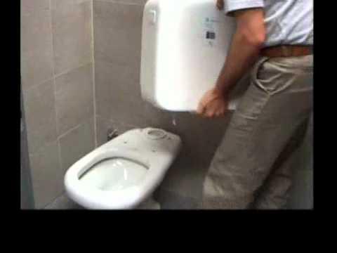 Degacor instalacion de inodoro largo ferrum youtube for Repuestos para mochila de inodoro ferrum