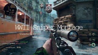 OpTic Pamaj:  WWII Sniper Montage