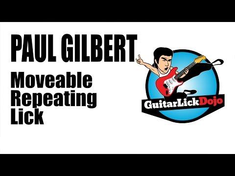 Paul Gilbert Moveable Repeating Licks