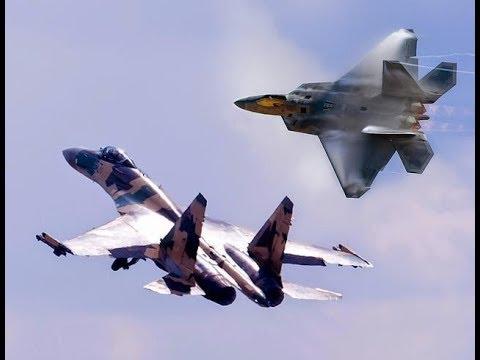 Су-35 и F22 кто кого перехватил