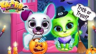 Play Fun Pet Care Kids Game - Kiki & Fifi Halloween Salon - Fun Pet Dress Up House Makeover Games