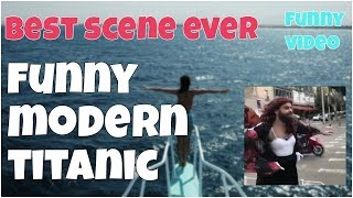 Best scene ever - modern titanic 2017 ⛵ 7 second of happiness FUNNY Video 😂 #397