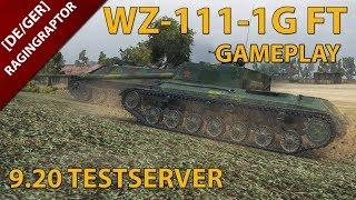 [DE/GER] World of Tanks: WZ-111-1G FT GAMEPLAY, NEUER CHINESISCHER T8 PANZERJÄGER