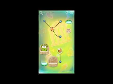 Cut the Rope: Time Travel - Level 5-11 - Ancient Greece - 3 Star Walkthrough