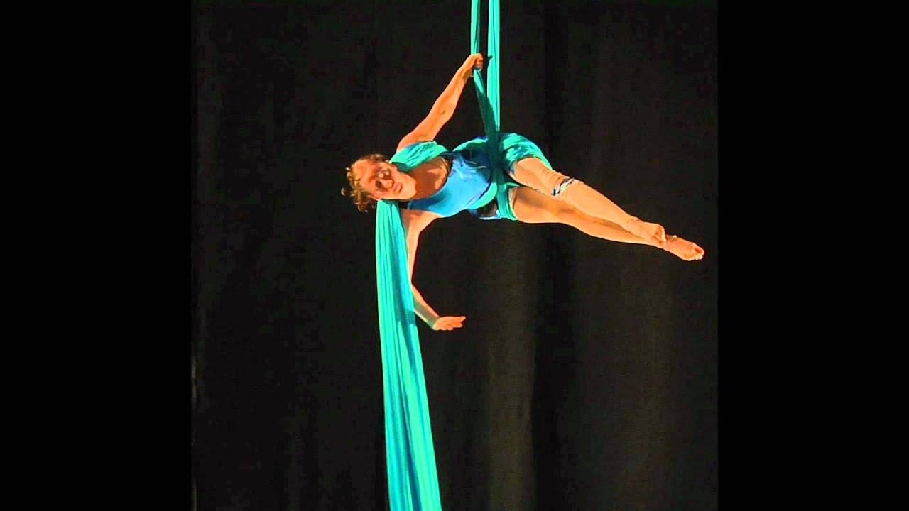 Aerial Silk Artist Destiny Vinley Aerial Silks