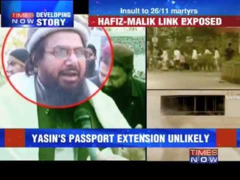 Yasin Malik - Indian passport, Pakistan leaning