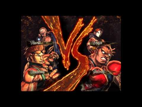 video gameplay  street fighter vs tekken