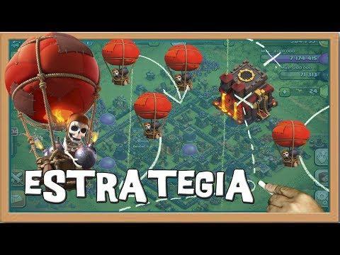 Estrategia - El Globo - Descubriendo Clash of Clans #120 [Español]