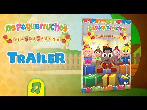 Os Pequerruchos Dia De Festa - Trailer DVD Vol. 03