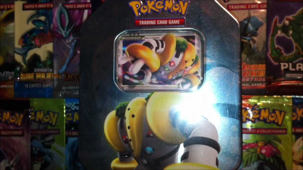 Exclusif ouverture d 39 une pokebox regigigas niv x - Pokemon y pokemon legendaire ...