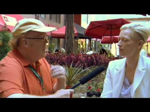 Tilda Swinton @ TIFF'09 Pt. 1 - Stephen Holt Show