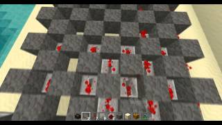 Minecraft як зробити  мигаючий танцпол !
