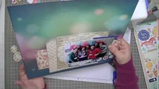 Scrapbooking Process: Crop and Create