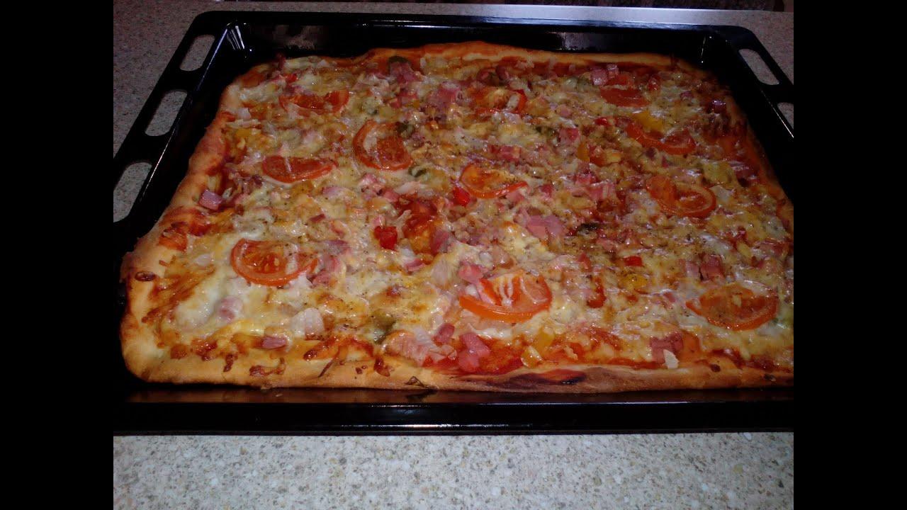 Дрожжевое сдобное тесто для пиццы (тонкая основа) - Дело Вкуса 72