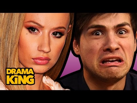 Iggy Azalea's EBOLA FIGHT with Paparazzi Ft. SMOSH's Anthony & Kalel Kitten  – DRAMA KING Ep. 3