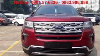 Ford Explorer 2019 Màu Đỏ Tại Việt Nam, Xe Nhập Mỹ Giá Hơn 2 Tỷ Có Gì Hay Ho?
