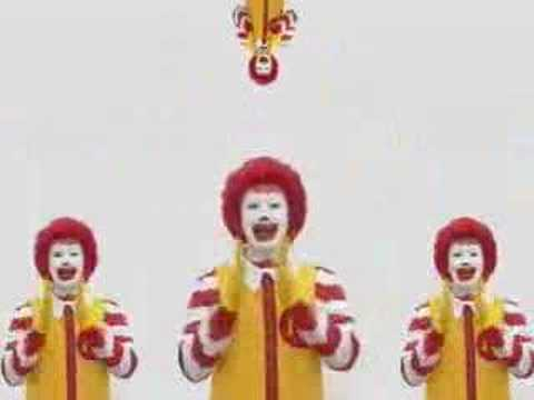 payaso malo - obedece a Macdonald Video