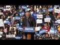 'I am back,' Bernie Sanders tells supporters